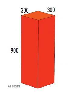 Bänfer Softbaustein Quader Rot 900 x 300 x 300 mm Maxi Schaumstoff-Baustein
