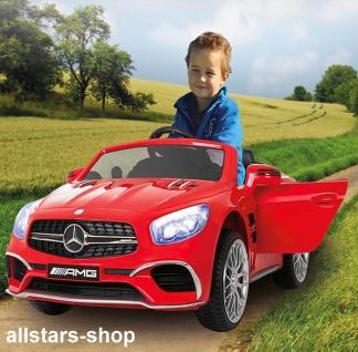 Jamara Kinder-Auto Elektroauto Mercedes SL 65 AMG Ride On Car mit E-Motor rot