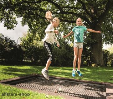 Huck H-G Trampolin 2012 Einbautrampolin 2 x 2, 5 m Outdoor-Trampolin Sprungmatte