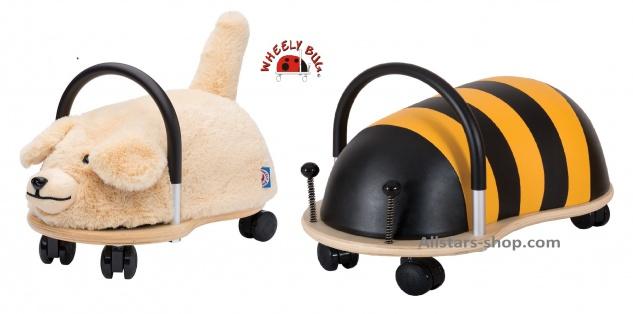 Wheely Bug Rutscher Biene Maja und Hund Bello Kleinkindrutscher klein Wendekreis 360 Grad Allstars