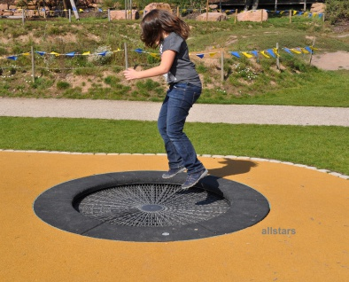 Hally-Gally Circus Trampolin Spielplatzgeräte Sprungmatte Jump Sprungtuch
