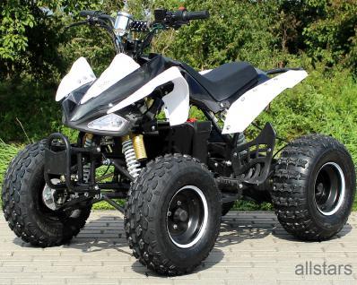 Quad Elektro-Quad Kinderquad E-Quad S-14 Speedy schwarz-weiss 1000W