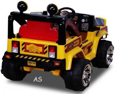 allstars Hummer A30 Jeep gelb Kinderauto Elektrokinderauto Geländewagen - Vorschau 5