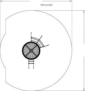 Huck Vogelnest-Kletterturm Asslar ohne Rutsche mit Stahlpfosten - Vorschau 4