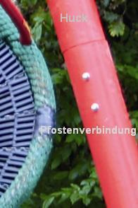 Huck Bogenschaukel mit Vogelnest 120 zum Einbetonieren - Vorschau 4