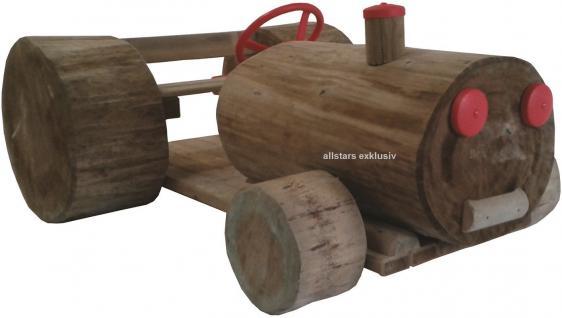 Traktor Holztraktor riesig Trecker Bulldog Kletteranlage öffentlicher Spielplatz