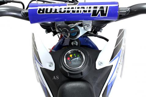 Allstars Dirtbike 500 Watt Gazelle Elektro CrossBike blau - Vorschau 3