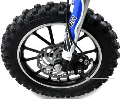 Allstars Dirtbike 500 Watt Gazelle Elektro CrossBike blau - Vorschau 4