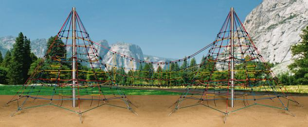Ullmann Kletterpyramide 450 Duo Giant Doppelpyramiden-Set