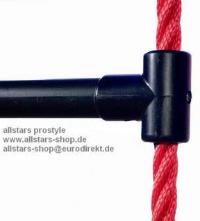 Ullmann Sprossenleiter Strickleiter 1, 8 m Kunststoffsprossen - Vorschau 2