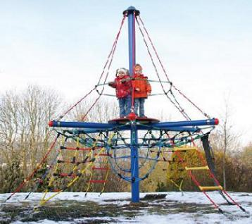 Huck Kletterpyramide Piratenturm Mini STM mit Vogelnest - Vorschau 1