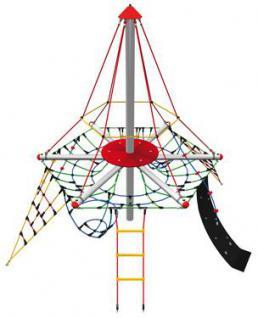 Huck Kletterpyramide Piratenturm Mini STM mit Vogelnest - Vorschau 2