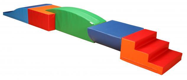 Bänfer Softbausteine Baumodul 5-tlg. Bausteinsatz MAXI Schaumstoffbausteine