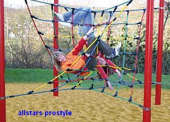 Huck Easy-Climb 1 Seilparcours Spielplatzgerät