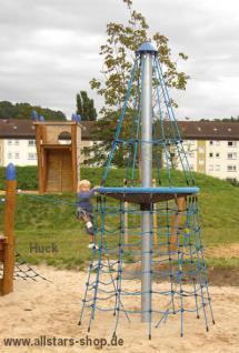 Huck Netzturm Sixt von Armin Kletterpyramide