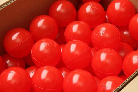 Bänfer Bällebad Therapiebälle Bälle 500 Stück 60 mm Therapie-Bälle im Sack bunt - Vorschau 5
