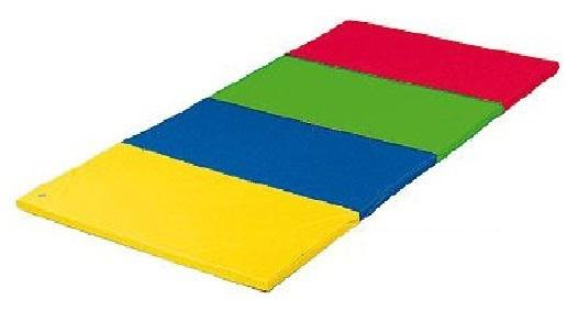 Turnmatte Matten Faltmatte 2, 4 x 1, 2 m bunt Schaumstoffmatte Spielmatte Bänfer - Vorschau 2