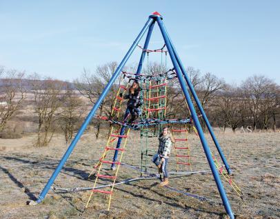 Huck Kletter-Wigwam Maxi Kletterpyramide