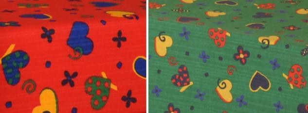Bänfer Kindermöbel Kuschelmatratze Kinderliege Matratze 1, 2 x 1, 2 m Motivdruck - Vorschau 3