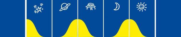 Bänfer Wandmatte Wandverkleidung blau Weltraum Schaumstoffverkleidung Polster