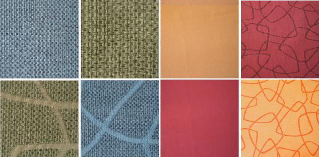 Bänfer Eckcouch MINI Sofa 3 teilig links länger Couch Farbwahl Polyester - Vorschau 4