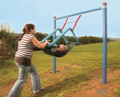 Huck Easy-Swing Midi Behindertenschaukel mit Pfosten