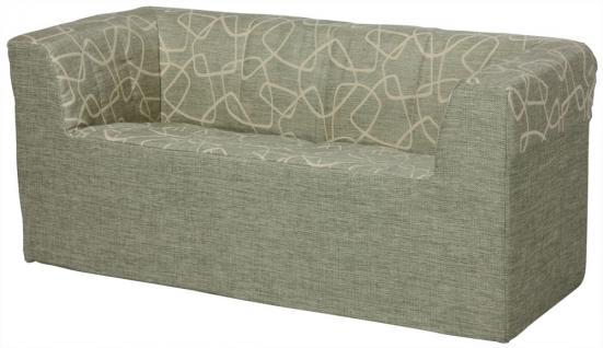 Bänfer Kindermöbel Zweisitzer Couch Sofa MINI Schaumstoff Fleckschutz Kindersofa