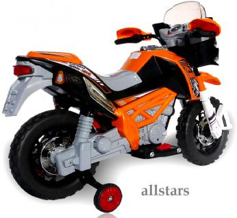 allstars E-Pocketbike Elektropocketbike Kindermotorrad orange E-Scooter E-Bike - Vorschau 2