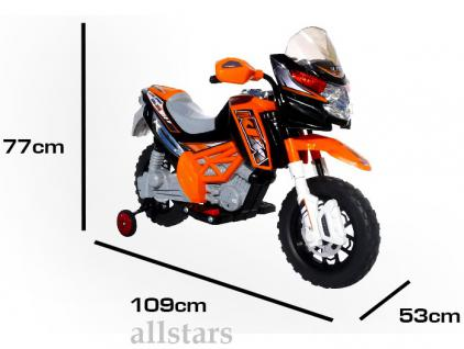 allstars E-Pocketbike Elektropocketbike Kindermotorrad orange E-Scooter E-Bike - Vorschau 4