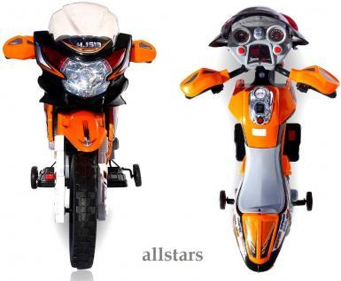 allstars E-Pocketbike Elektropocketbike Kindermotorrad orange E-Scooter E-Bike - Vorschau 5