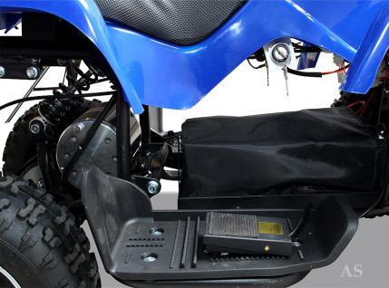 allstars Quad Elektroquad 800W Torino Kinderquad Pocketquad blau - Vorschau 4