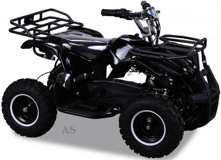 allstars Quad Elektroquad 800W Torino Kinderquad Pocketquad schwarz - Vorschau 1