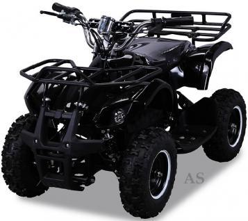 allstars Quad Elektroquad 800W Torino Kinderquad Pocketquad schwarz - Vorschau 2