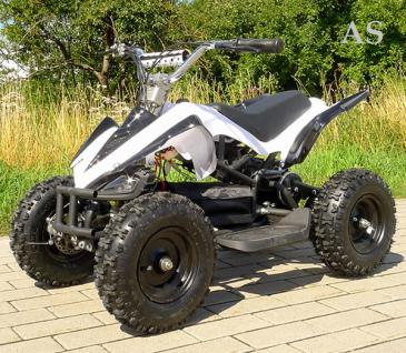 Allstars E-Quad Elektroquad Racer 800W weiss Kinderquad - Vorschau 1