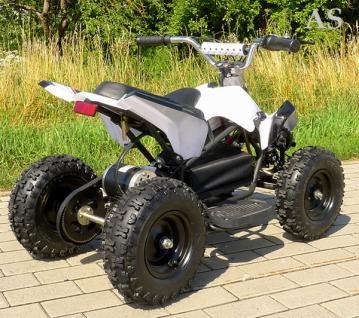Allstars E-Quad Elektroquad Racer 800W weiss Kinderquad - Vorschau 2