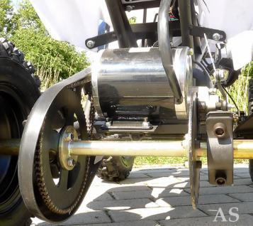 Allstars E-Quad Elektroquad Racer 800W weiss Kinderquad - Vorschau 3