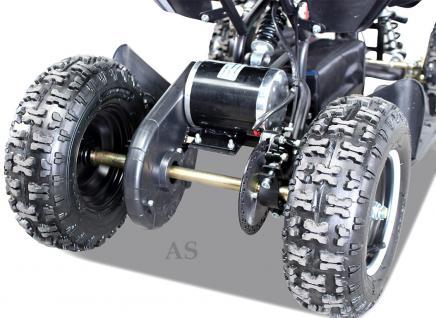 Allstars E-Quad Elektroquad Racer 800W schwarz Kinderquad - Vorschau 3