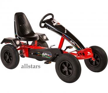 Dino Cars GoKart Stylez S112 AF Kettcar rot-schwarz