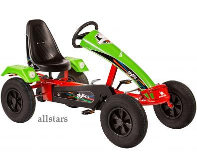 Allstars Dino Cars GoKart Stylez S113 BF1 Kettcar rot-grün