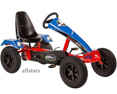 Allstars Dino Cars GoKart Stylez S114 AF Kettcar rot-blau