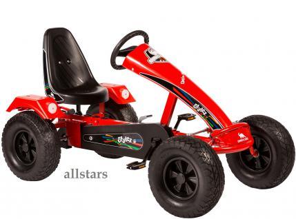 Dino Cars Kettcar GoKart Stylez S121 BF1 Kettcar Breitreifen rot