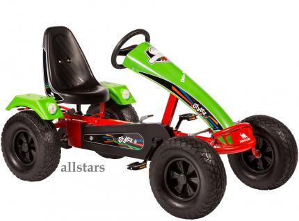 Allstars Dino Cars Kettcar GoKart Stylez S123 AF Kettcar Breitreifen rot-grün