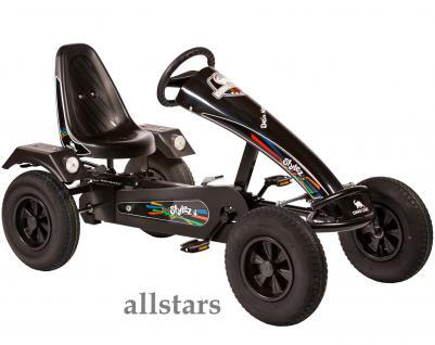 Allstars Dino Cars GoKart Stylez S212 BF1 Kettcar schwarz-schwarz