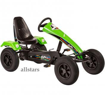 Allstars Dino Cars GoKart Stylez S213 AF Kettcar schwarz-grün