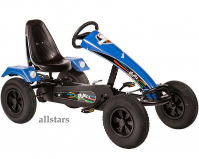 Allstars Dino Cars GoKart Stylez S214 AF Kettcar schwarz-blau