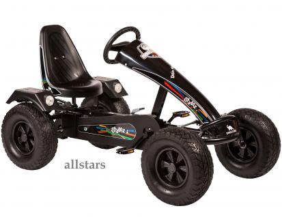 Allstars Dino Cars Kettencar GoKart Stylez S222 BF1 Breitreifen schwarz-schwarz