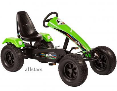 Allstars Dino Cars Kettcar GoKart Stylez S223 AF Kettcar Breitreifen schwarz-grün