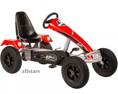 Allstars Dino Cars GoKart Stylez S311 AF Kettcar silber-rot