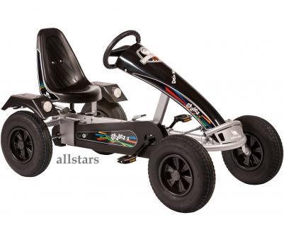 Allstars Dino Cars GoKart Stylez S312 AF Kettcar silber-schwarz