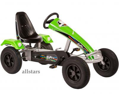 Allstars Dino Cars GoKart Stylez S313 AF Kettcar silber-grün